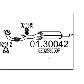 Vorschalldämpfer mit OEM-Nummer 5Z0253059F