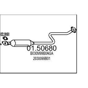 Μεσαίο σιλανσιέ 01.50680 MICRA 2 (K11) 1.3 i 16V Έτος 1996