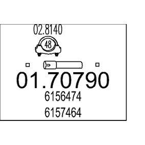 Pakoputki kanssa OEM-numerot 6156474