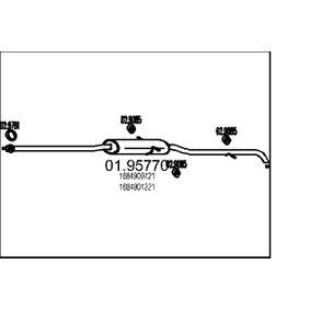 Endschalldämpfer Länge: 2150mm, Länge: 2150mm mit OEM-Nummer 1684902121