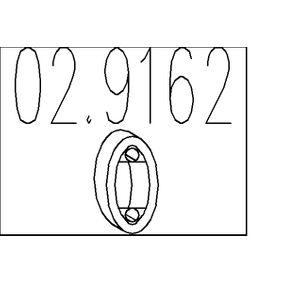 Nissan Almera Tino 2.2dCi Halter, Abgasanlage MTS 02.9162 (2.2 dCi Diesel 2006 YD22DDT)