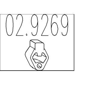 Anschlagpuffer, Schalldämpfer Ø: 0mm, Länge: 100mm mit OEM-Nummer 77.00.836.095