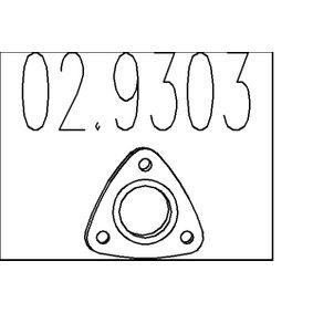 Уплътнение, изпускателни тръби 02.9303 25 Хечбек (RF) 2.0 iDT Г.П. 2005