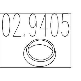 Dichtring, Abgasrohr mit OEM-Nummer 20695AV310