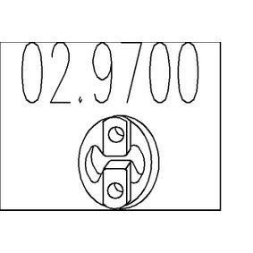 Anschlagpuffer, Schalldämpfer 02.9700 MONDEO 3 Kombi (BWY) 2.0 TDCi Bj 2001