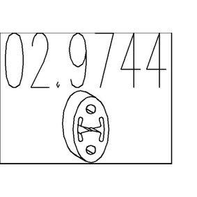 Ударен тампон, гърне 02.9744 800 (XS) 2.0 I/SI Г.П. 1997