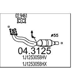 Katalysator 04.3125 A3 Hatchback (8L1) 1.8 bj 2003