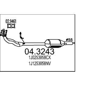 Katalysator 04.3243 A3 Hatchback (8L1) 1.8 bj 1997
