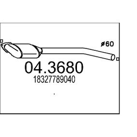 Katalysator 04.3680 3 Limousine (E46) 320d 2.0 Bj 1999