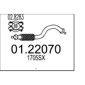 Katalysator Ø: 0mm mit OEM-Nummer 58 54 198