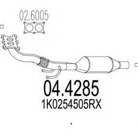 Touran 1T1, 1T2 1.6 Katalysator MTS 04.4285 (1.6 Benzin 2004 BSF)