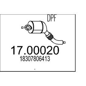 Ruß- / Partikelfilter, Abgasanlage mit OEM-Nummer 18.30.7.806.413