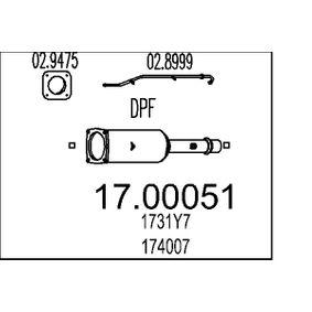 Rußpartikelfilter Art. Nr. 17.00051 120,00€