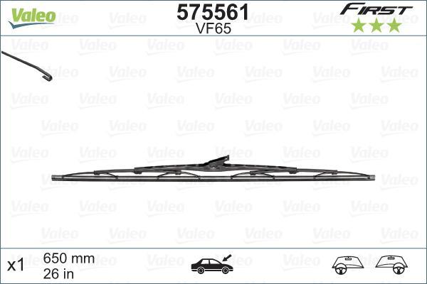 Cikkszám VF65 VALEO Az árak