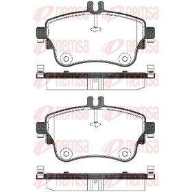Bremsbelagsatz, Scheibenbremse Höhe: 71,5mm, Dicke/Stärke: 19mm mit OEM-Nummer A006 420 48 20