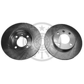 OPTIMAL  BS-0881 Bremsscheibe Bremsscheibendicke: 12mm, Ø: 239mm