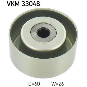 SKF  VKM 33048 Umlenkrolle Keilrippenriemen Ø: 60mm
