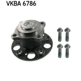 Wheel Bearing Kit with OEM Number 2463340006