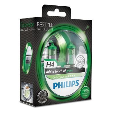 Glühlampe, Fernscheinwerfer 12342CVPGS2 PHILIPS H4 in Original Qualität