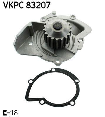 Kühlmittelpumpe VKPC 83207 SKF VKPC 83207 in Original Qualität