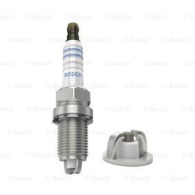 Spark Plug Electrode Gap: 0,9mm with OEM Number FR7LD BOSCH