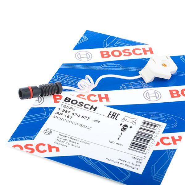 Sensor de Desgaste de Pastillas de Frenos BOSCH 1987474577 conocimiento experto