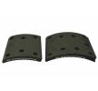 OEM Brake Lining Kit, drum brake BERAL 1950615400015616