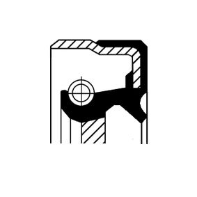 CORTECO  01036358B Wellendichtring, Schaltgetriebe