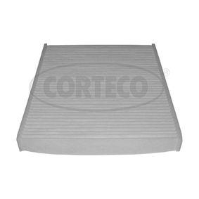 Filtro de Habitáculo BMW X5 (E70) 3.0 d de Año 02.2007 235 CV: Filtro, aire habitáculo (80004406) para de CORTECO