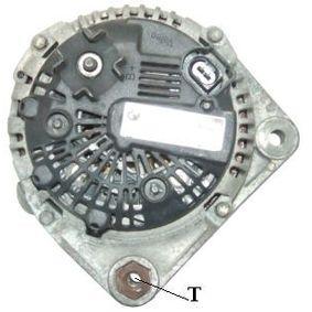 Lichtmaschine Rippenanzahl: 6 mit OEM-Nummer 7 792 072