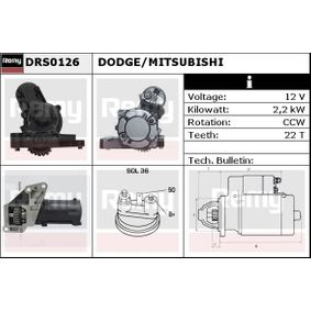 Starter with OEM Number M1 T93 571