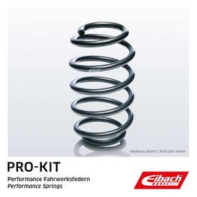 Honda Civic eu7 1.4iS (EP1) Federn EIBACH Single Spring Pro-Kit F11-40-001-01-VA (1.4i Benzin 2002 D14Z5)