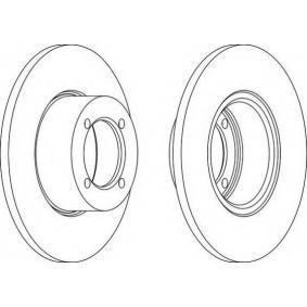Bremsscheibe Bremsscheibendicke: 11mm, Lochanzahl: 4, Ø: 238mm, Ø: 238mm mit OEM-Nummer 90065903