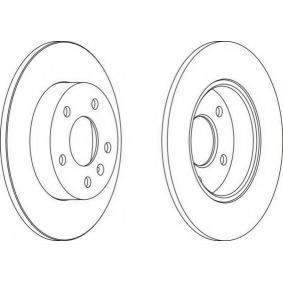Bremsscheibe Bremsscheibendicke: 10mm, Lochanzahl: 5, Ø: 264mm, Ø: 264mm mit OEM-Nummer 09117772