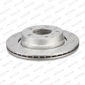 Спирачен диск дебелина на спирачния диск: 22мм, брой на дупките: 5, Ø: 330мм с ОЕМ-номер A1644231312