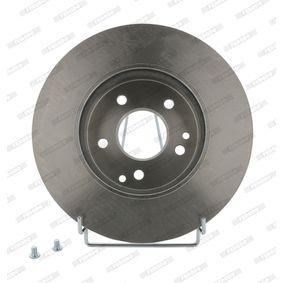Brake Disc Brake Disc Thickness: 26mm, Num. of holes: 5, Ø: 280mm, Ø: 280mm with OEM Number 517122C700