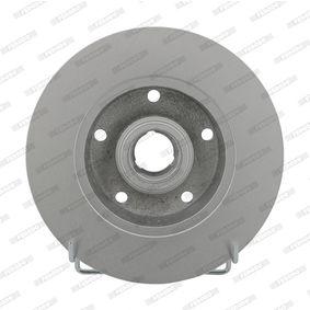 Bremsscheibe Bremsscheibendicke: 10mm, Lochanzahl: 5, Ø: 245mm mit OEM-Nummer 8D0615301B