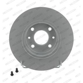 FERODO  DDF927C-1 Bremsscheibe Bremsscheibendicke: 22mm, Lochanzahl: 5, Ø: 256mm