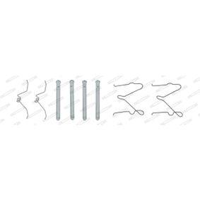 Zubehörsatz, Scheibenbremsbelag FBA503 323 P V (BA) 1.3 16V Bj 1997