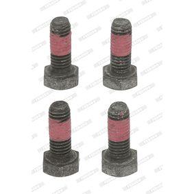 FERODO Zubehörsatz, Scheibenbremsbelag FBA541 für AUDI 80 (8C, B4) 2.8 quattro ab Baujahr 09.1991, 174 PS