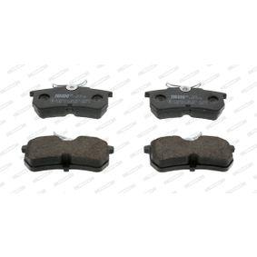 Bremsbelagsatz, Scheibenbremse Höhe 1: 43mm, Höhe: 43mm, Dicke/Stärke: 14,7mm mit OEM-Nummer 98AX 2M008 BA