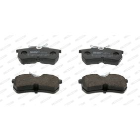 Brake Pad Set, disc brake Height 1: 43mm, Height: 43mm, Thickness: 14,7mm with OEM Number 1 107 698