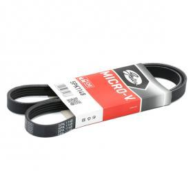 V-Ribbed Belt Set K015PK1148 PUNTO (188) 1.2 16V 80 MY 2000
