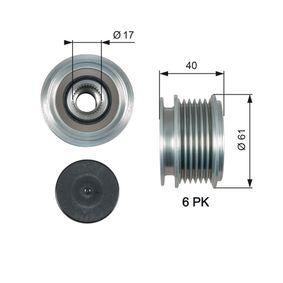 Механизъм за свободен ход на генератор OAP7013 Golf 5 (1K1) 1.9 TDI Г.П. 2008