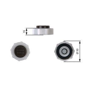 Verschlussdeckel, Kühlmittelbehälter RC222 CLIO 2 (BB0/1/2, CB0/1/2) 1.5 dCi Bj 2002