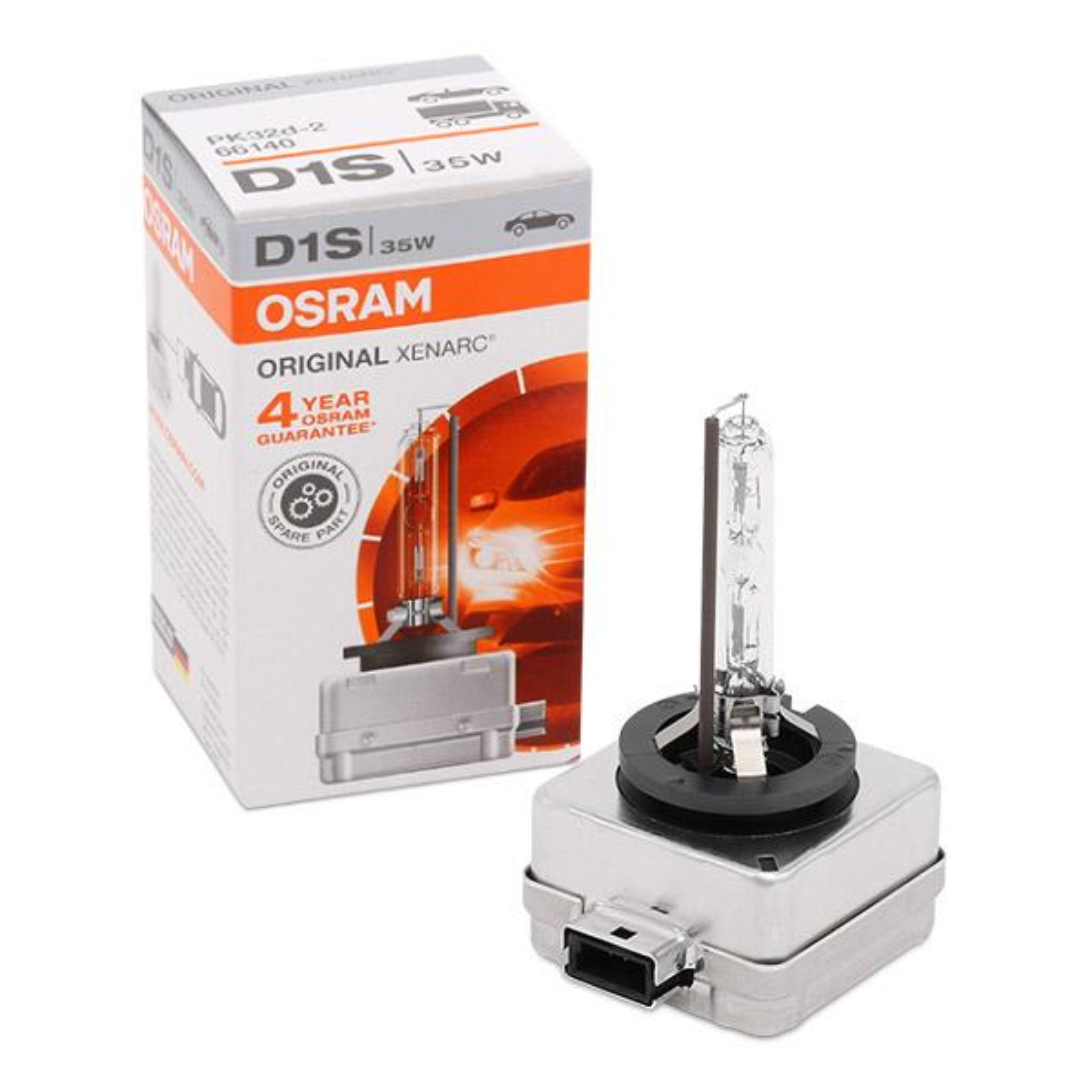 Żarówka, reflektor dalekosiężny 66140 OSRAM D1S oryginalnej jakości