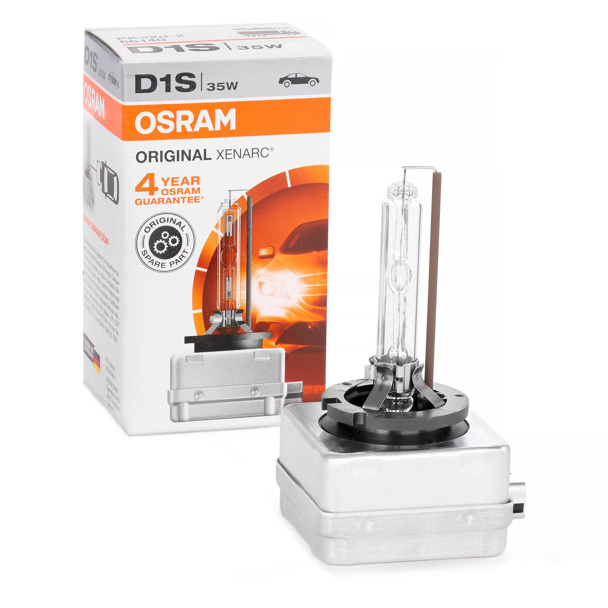 Glödlampa, fjärrstrålkastare OSRAM D1S 4008321184276