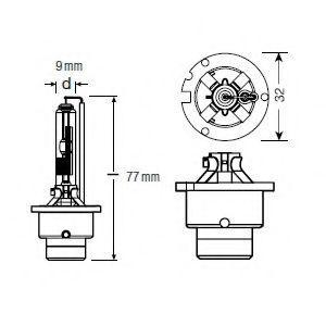 Żarówka, reflektor dalekosiężny OSRAM 66250CLC oceny