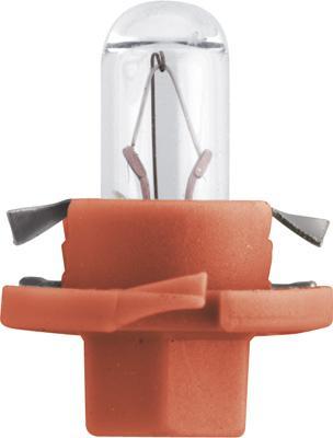 Glühlampe, Instrumentenbeleuchtung 12624CP PHILIPS Bax84dorange in Original Qualität