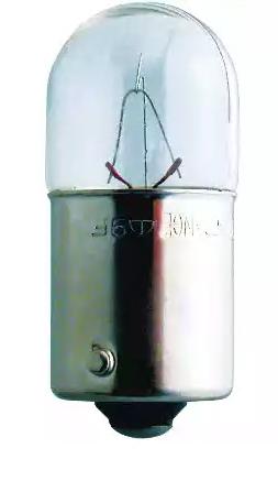 Bulb, licence plate light 13814B2 PHILIPS R10W original quality